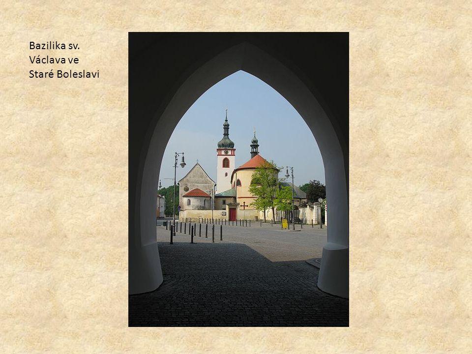 Bazilika sv. Václava ve Staré Boleslavi