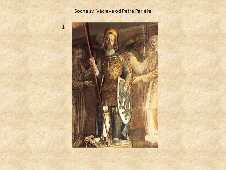 Socha sv. Václava od Petra Parléře 1