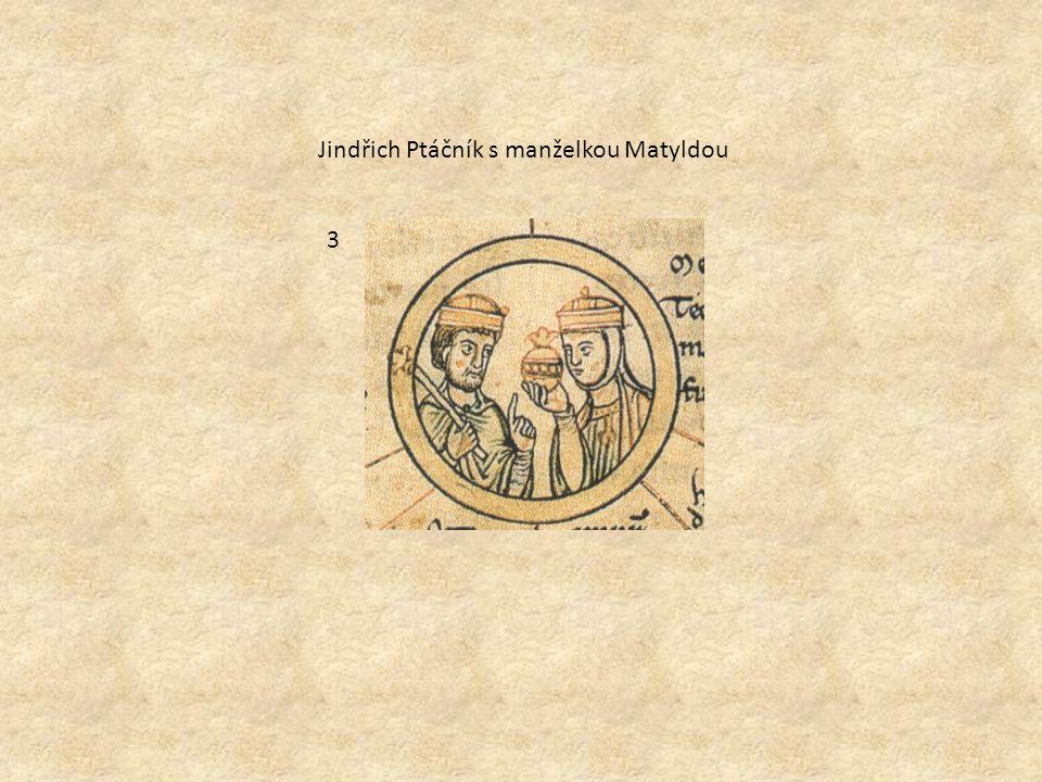 3 Jindřich Ptáčník s manželkou Matyldou