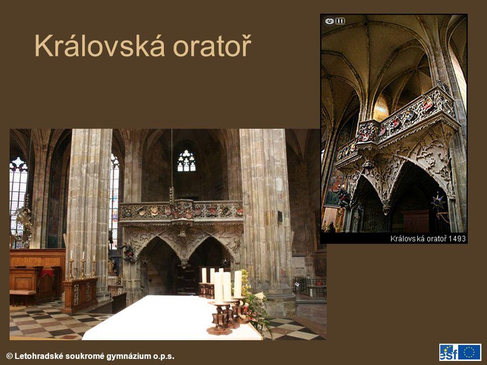© Letohradské soukromé gymnázium o.p.s. Královská oratoř