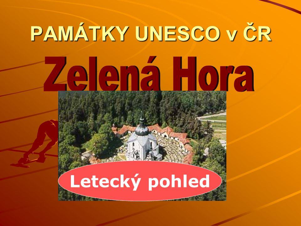 PAMÁTKY UNESCO v ČR Letecký pohled