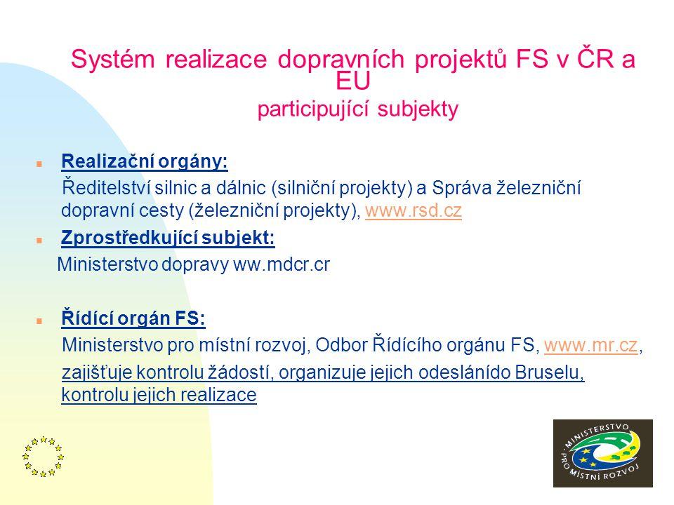 14 Dokumenty Fondu soudržnosti n Dokumenty pro implementaci FS – viz www.strukturalni–fondy.cz n Usnes. vl. č. 102/02 a 125/04 n Strategické dokumenty