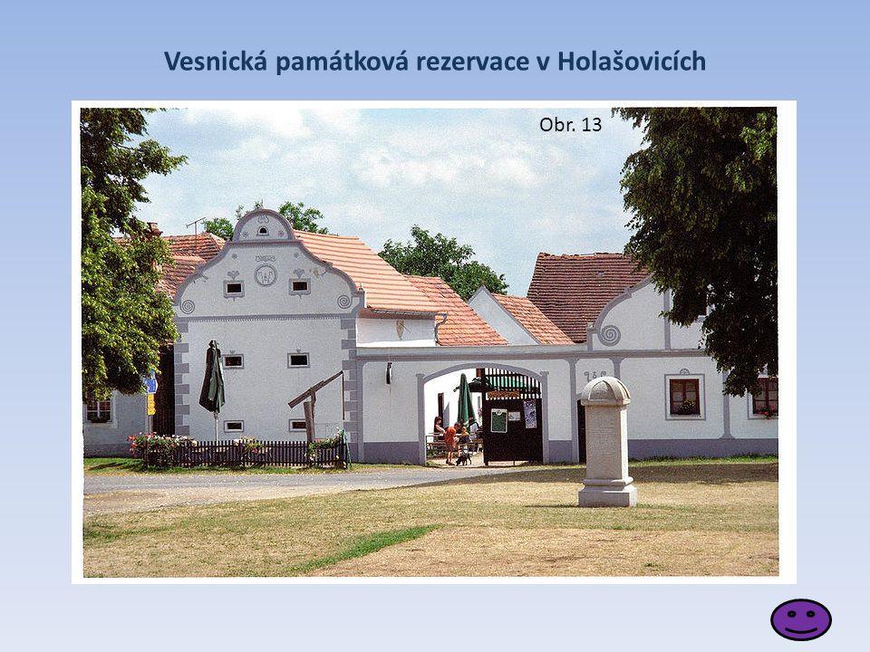 Vesnická památková rezervace v Holašovicích Obr. 13