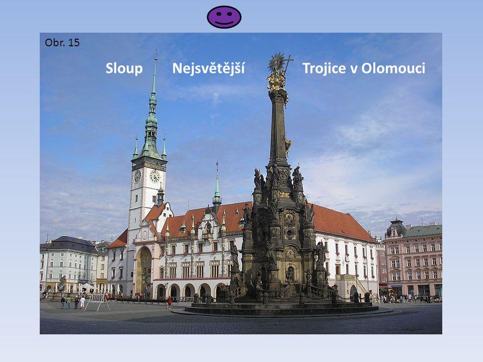 Sloup Nejsvětější Trojice v Olomouci Obr. 15