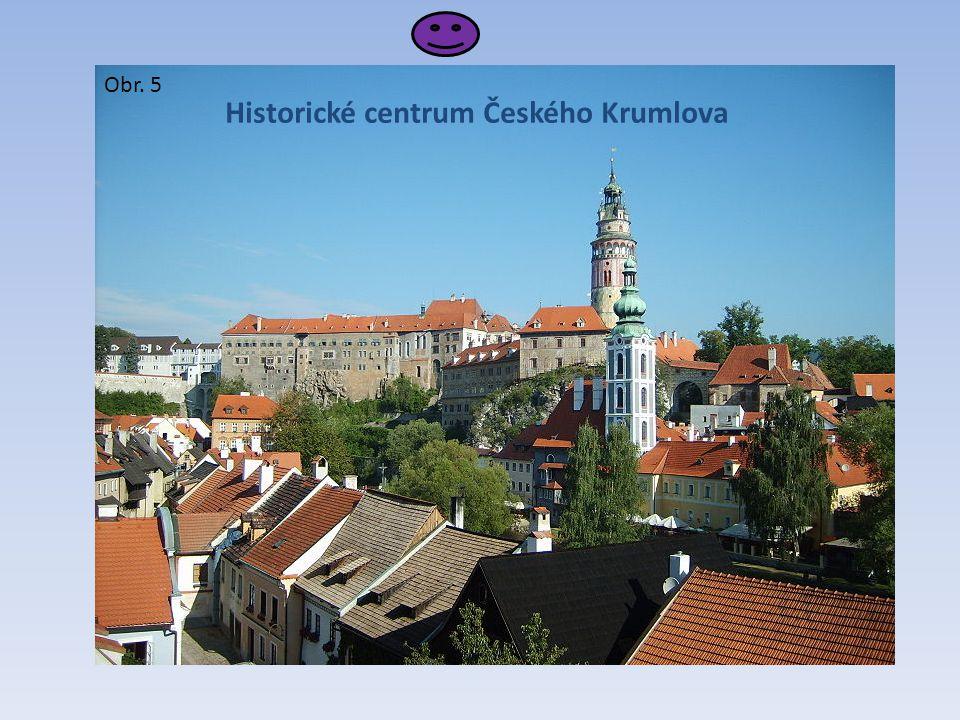 Historické centrum Českého Krumlova Obr. 5