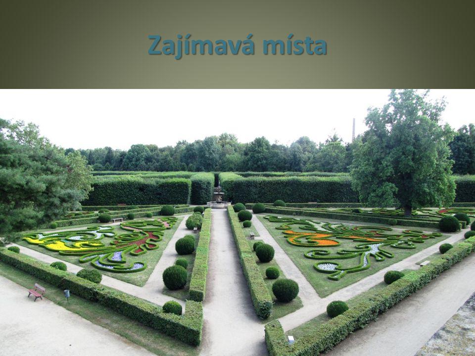 Zajímavá místa Květná zahrada v Kroměříži