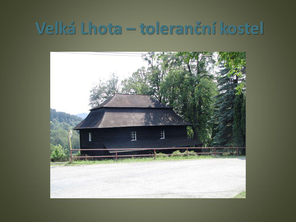 Velká Lhota – toleranční kostel