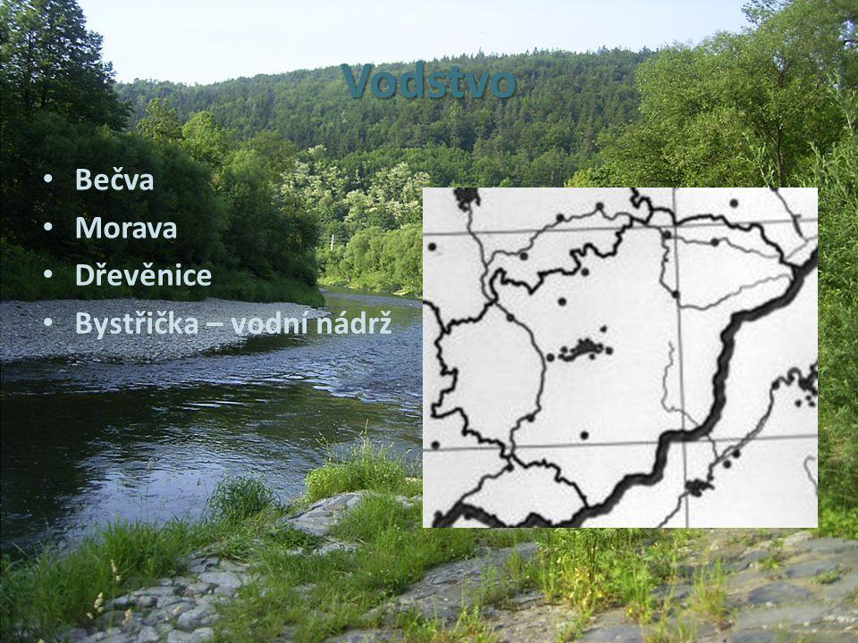 Vodstvo Bečva Morava Dřevěnice Bystřička – vodní nádrž
