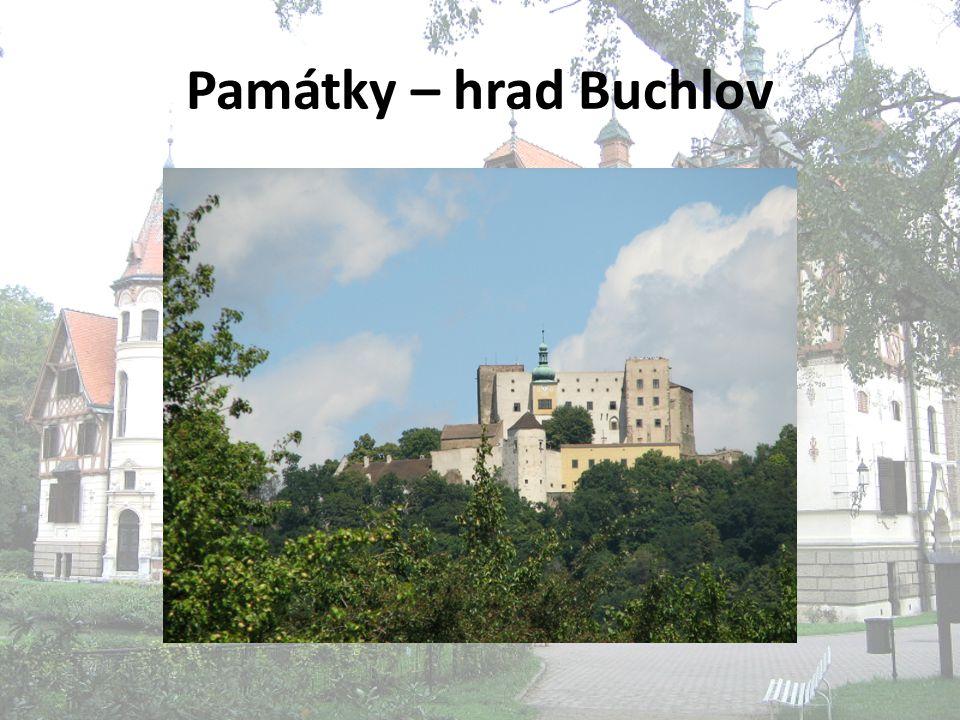 Památky – hrad Buchlov