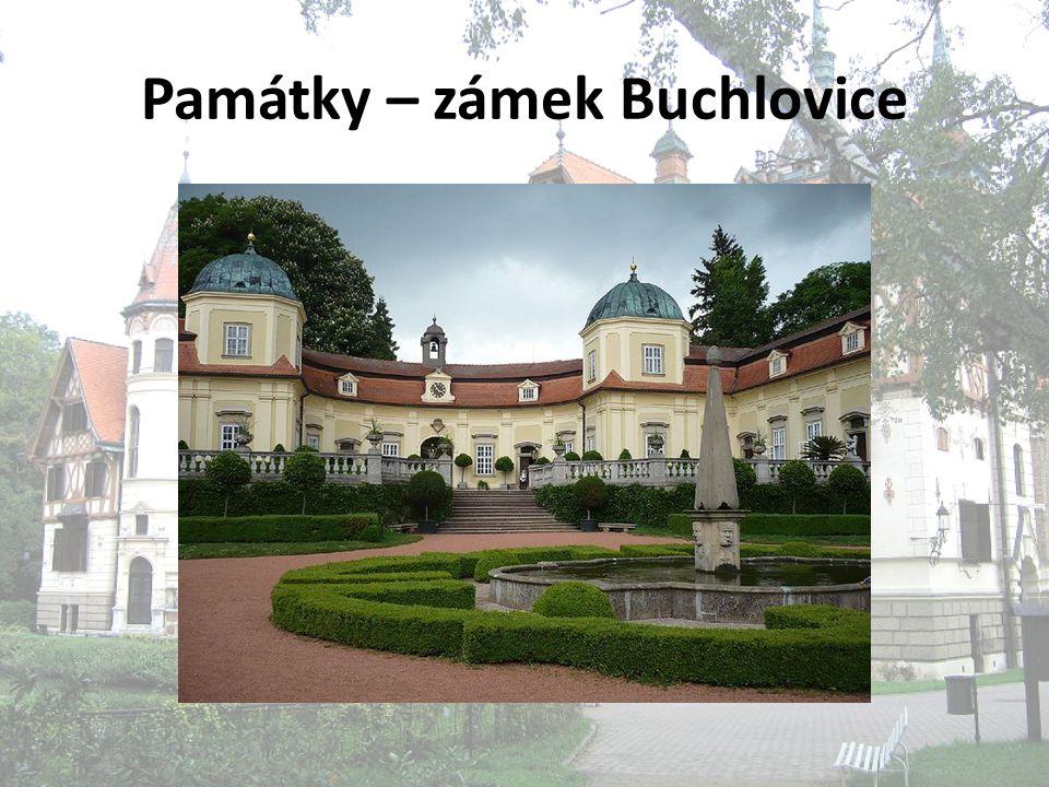 Památky – zámek Buchlovice