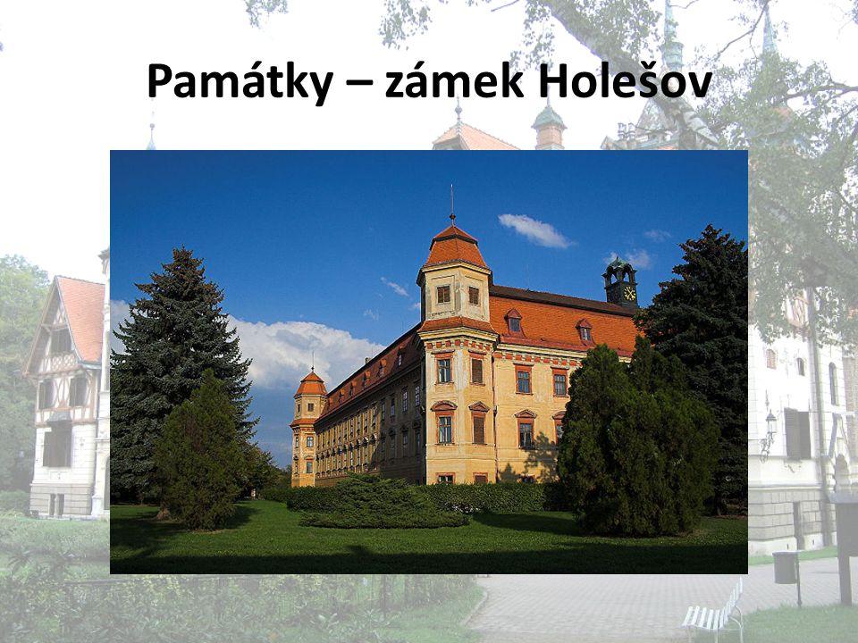 Památky – zámek Holešov