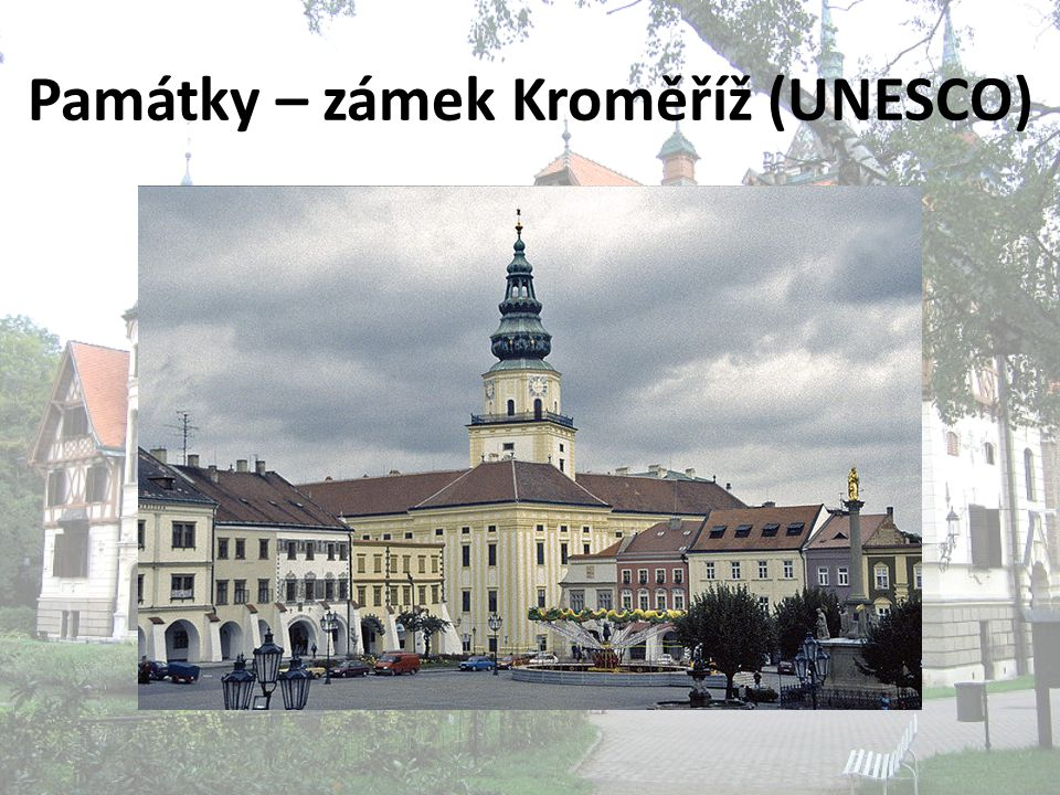 Památky – zámek Kroměříž (UNESCO)