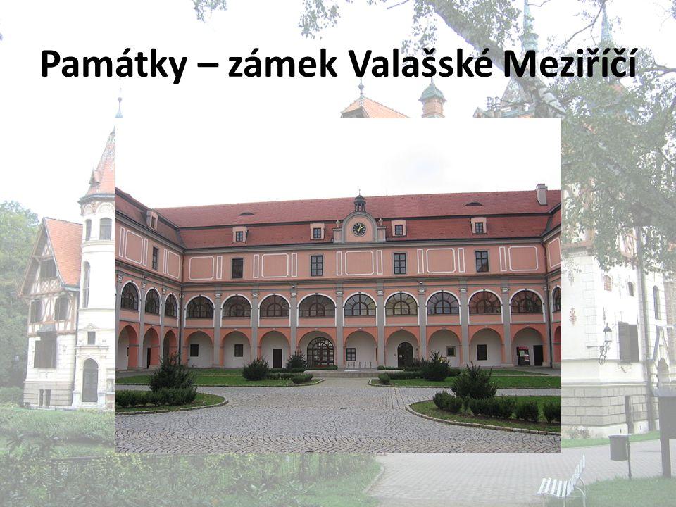 Památky – zámek Valašské Meziříčí