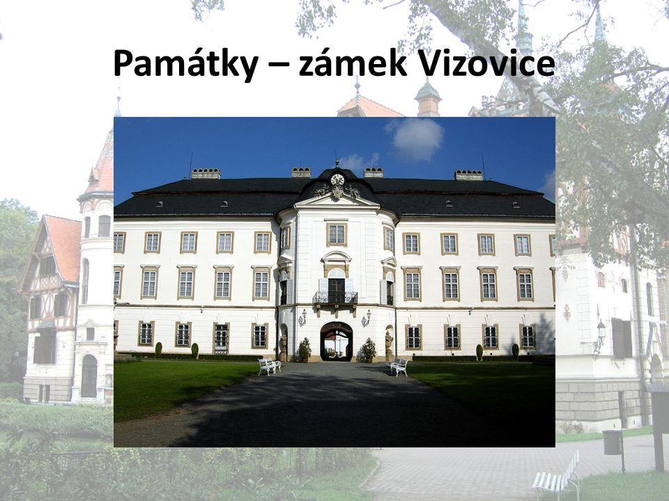 Památky – zámek Vizovice