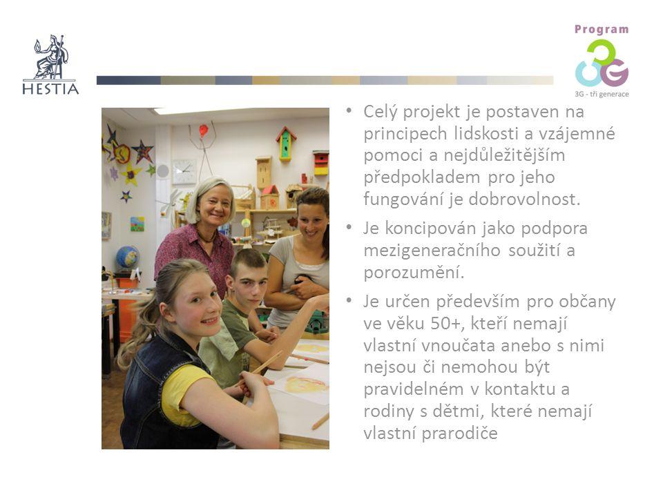 Celý projekt je postaven na principech lidskosti a vzájemné pomoci a nejdůležitějším předpokladem pro jeho fungování je dobrovolnost.
