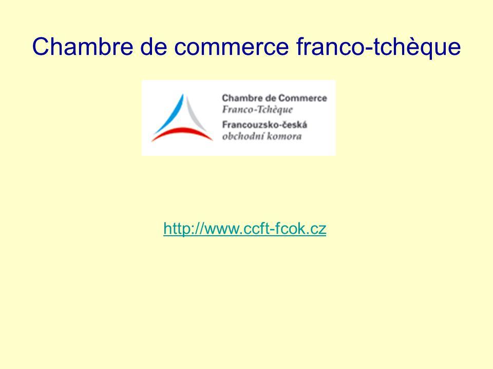 Chambre de commerce franco-tchèque http://www.ccft-fcok.cz
