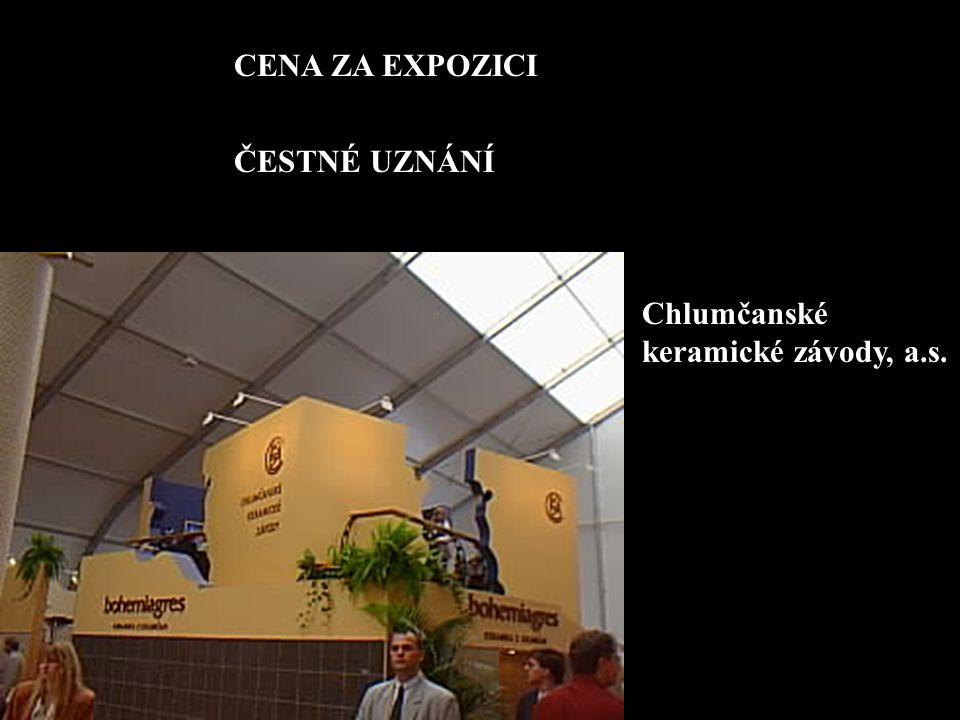 CENA ZA EXPOZICI ČESTNÉ UZNÁNÍ Chlumčanské keramické závody, a.s.