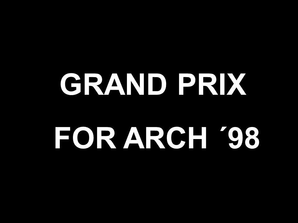 For Arch ´98 Čestná uznání bez určení pořadí za glazovanou povrchovou úpravu pálené střešní krytiny NOBLESSE, FINESSE CREATON AG - Ichenhausen/Autenried, Německo