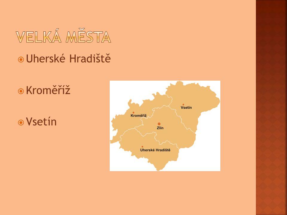  Uherské Hradiště  Kroměříž  Vsetín