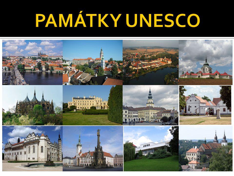  Praha – historické centrum  Český Krumlov – historické centrum  Telč – historické centrum  Poutní kostel sv.