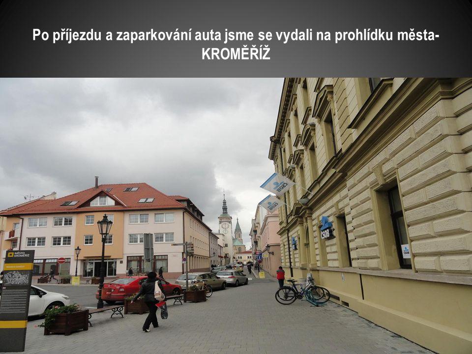 Snímek kostela pořízen při průjezdu města Ivanovice na Hané