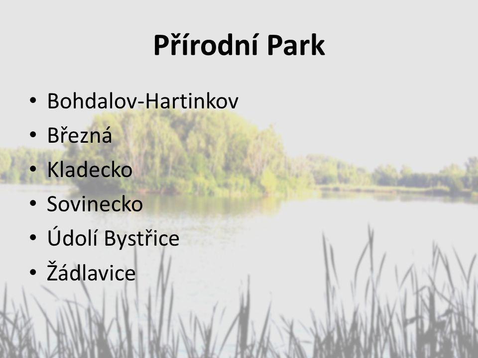 Přírodní Park Bohdalov-Hartinkov Březná Kladecko Sovinecko Údolí Bystřice Žádlavice