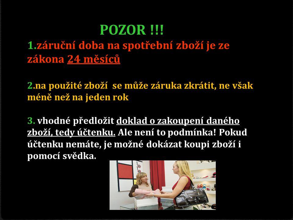 Použité zdroje : 0 http://www.blesk.cz/clanek/radce-penize/127185/reklamace-jak-resit-spory-s-obchodniky.htm http://www.blesk.cz/clanek/radce-penize/127185/reklamace-jak-resit-spory-s-obchodniky.htm 0 https://www.google.cz/ https://www.google.cz/ 0 http://www.dtest.cz/nejcastejsi-problemy/ http://www.dtest.cz/nejcastejsi-problemy/ 0 http://play.iprima.cz/videoplayer/174883 http://play.iprima.cz/videoplayer/174883 0 http://play.iprima.cz/videoplayer/252190 http://play.iprima.cz/videoplayer/252190 0 https://www.youtube.com/watch?v=vEhzEdpQyAc https://www.youtube.com/watch?v=vEhzEdpQyAc