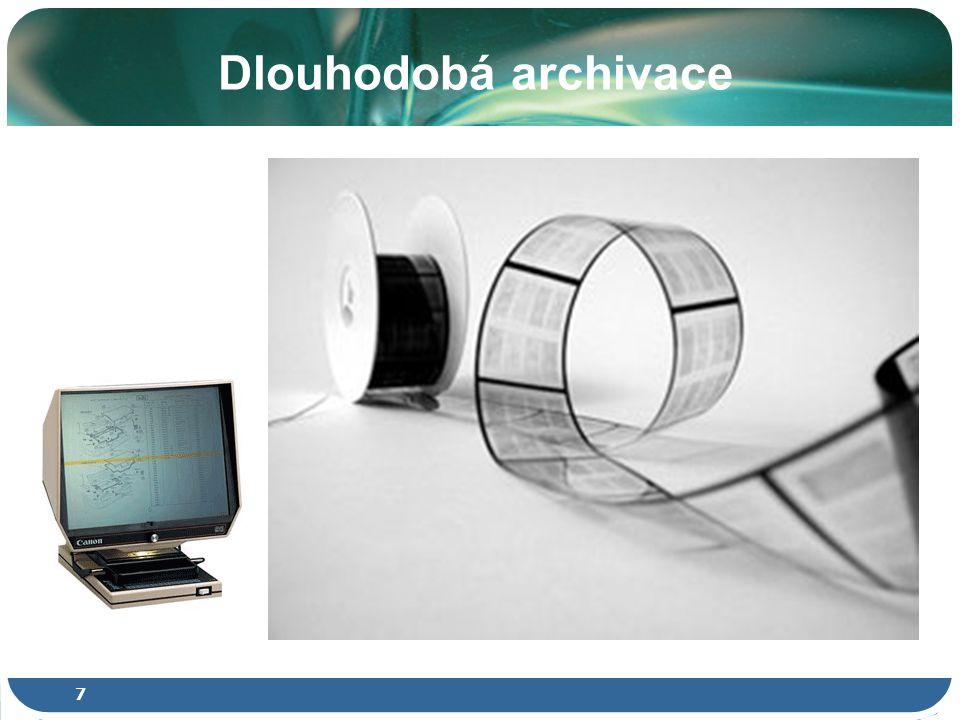 Archivace - Zpřístupnění