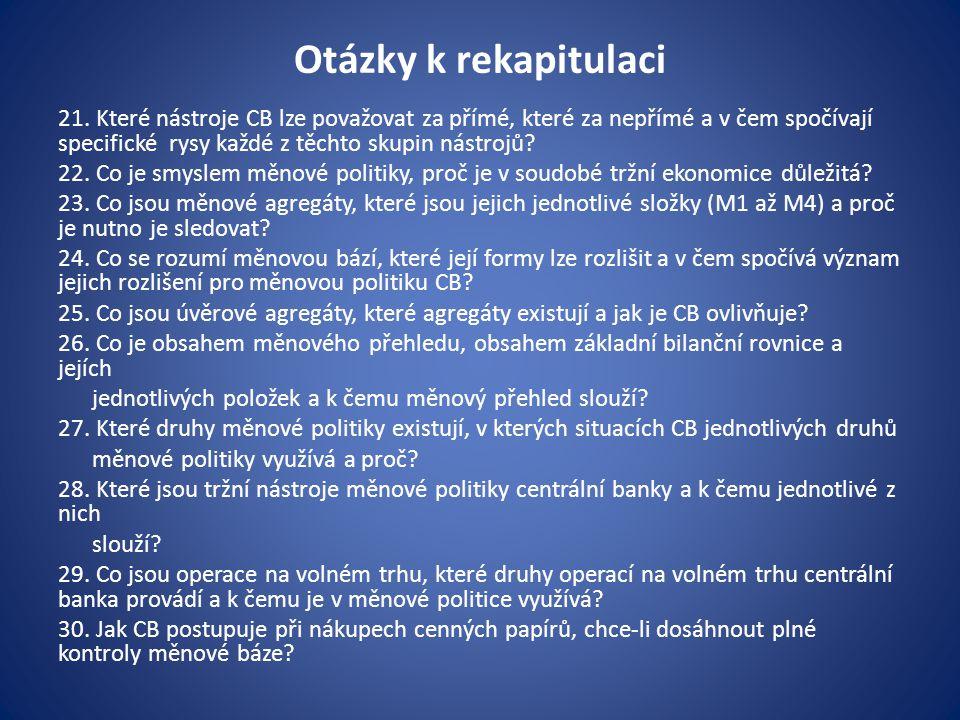 Otázky k rekapitulaci 21.