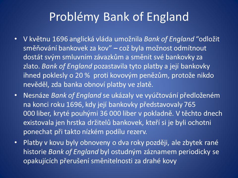 centrální banka jako banka státu základní činnosti: 1.