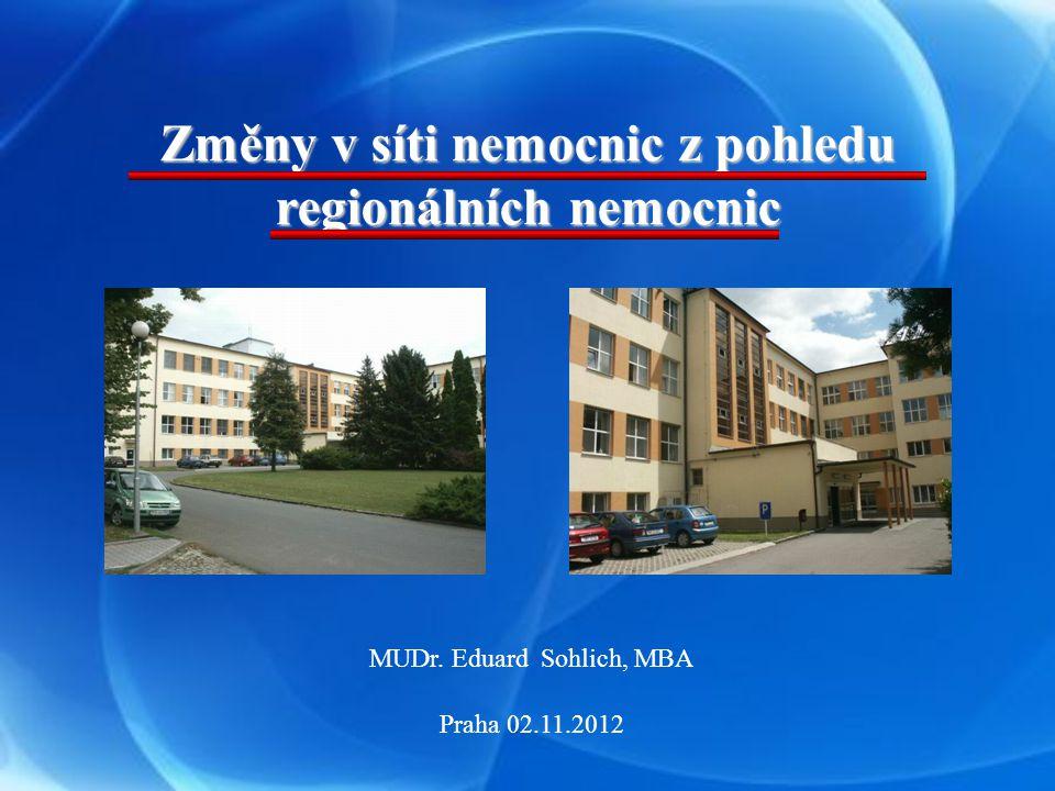 Výnosy a náklady v nemocnicích zřizovaných MZ ČR Nem.