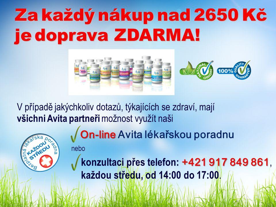 On-line On-line Avita lékařskou poradnu nebo +421 917 849 861 konzultaci přes telefon: +421 917 849 861, každou středu, od 14:00 do 17:00.