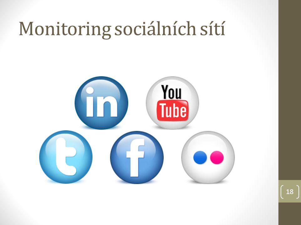 Monitoring sociálních sítí 18