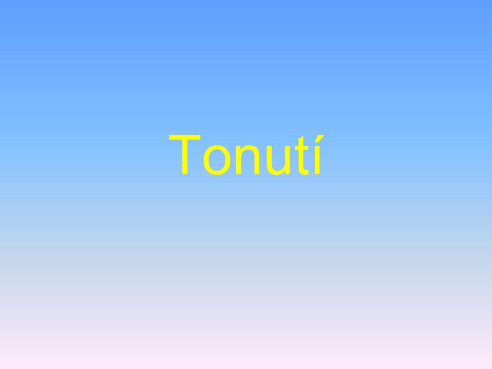 Tonutí
