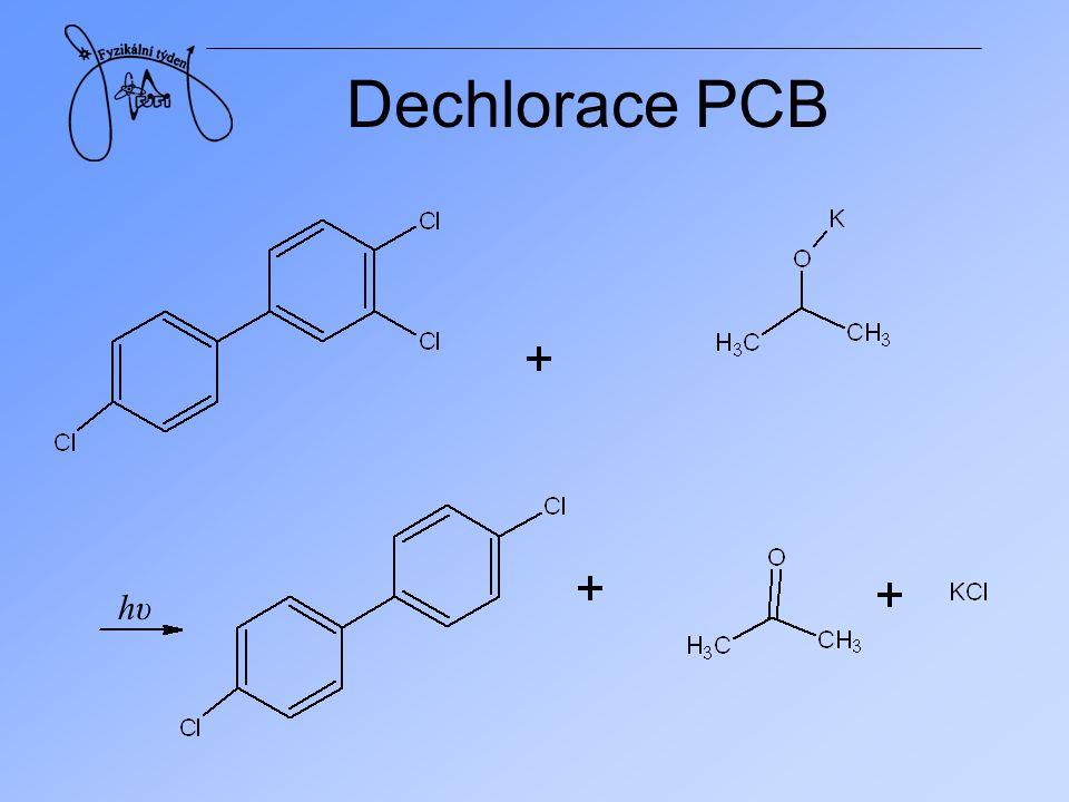 Dechlorace PCB hυ