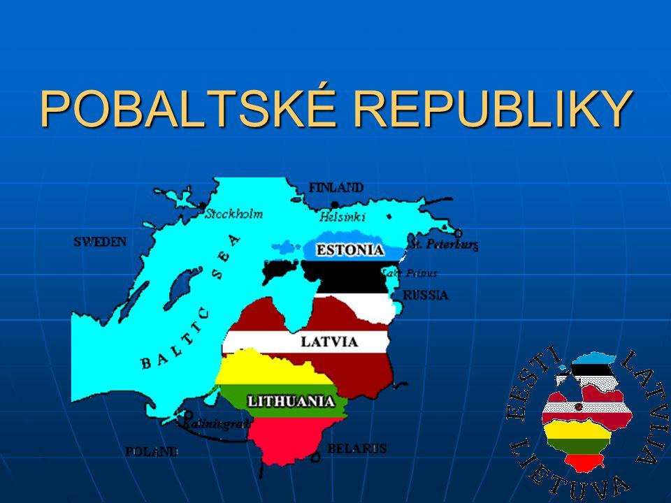 Lotyšsko Riga (řeka Daugava – Západní Dvina) Riga (řeka Daugava – Západní Dvina) Polovina obyvatelstva Rusové Polovina obyvatelstva Rusové Luteráni Luteráni 1/3 území zalesněna 1/3 území zalesněna Jezera, rašeliniště Jezera, rašeliniště