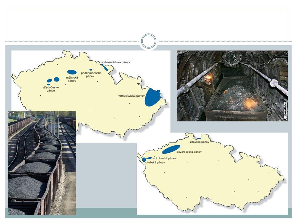 VÝHODYNEVÝHODY snadné skladovánínebezpečná těžba v dolech značné zásobyvznik škodlivých látek při spalování (SO 2, CO, CO 2, popílek) přímé využitízábor půdy