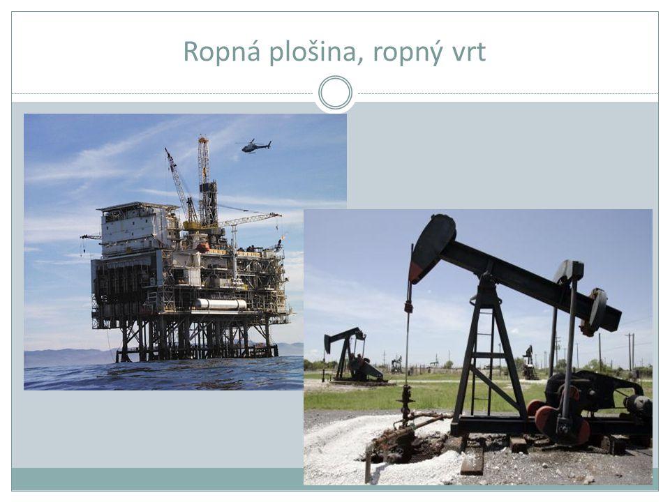Ropná plošina, ropný vrt