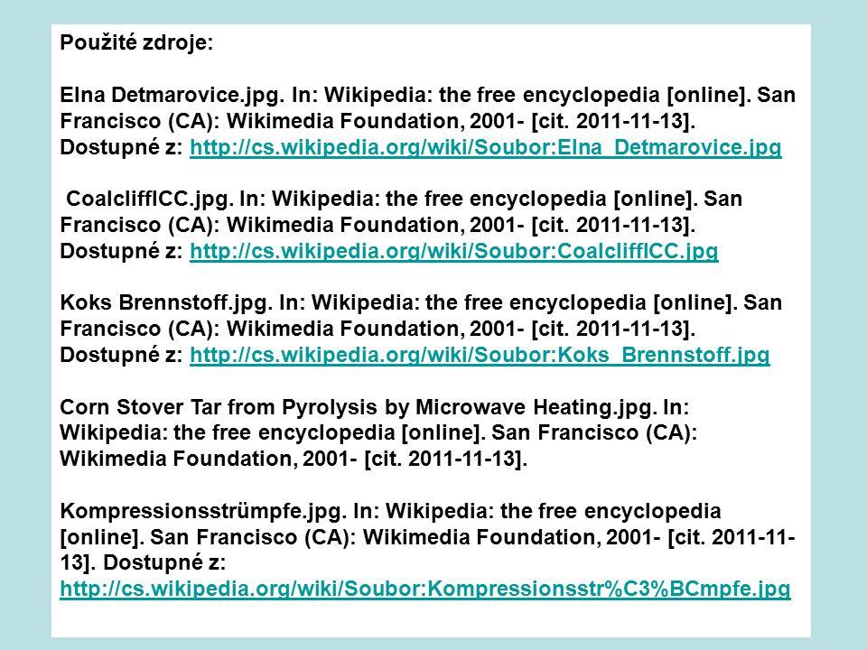 Použité zdroje: Elna Detmarovice.jpg.In: Wikipedia: the free encyclopedia [online].