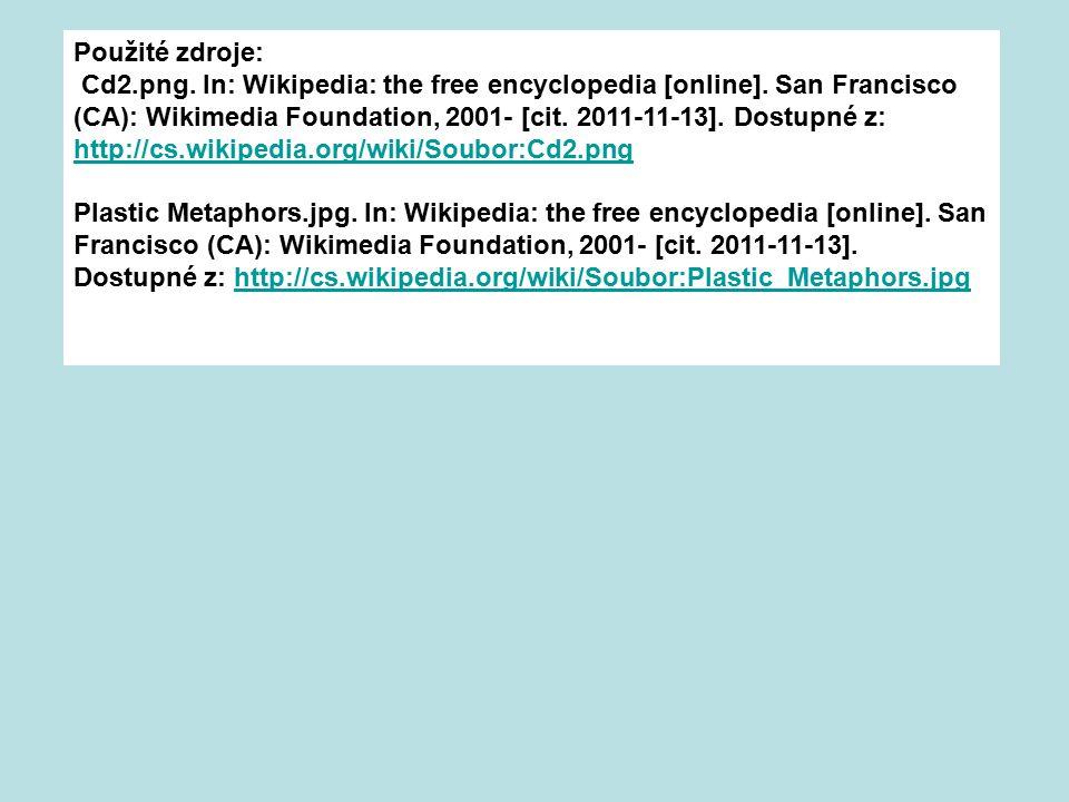 Použité zdroje: Cd2.png.In: Wikipedia: the free encyclopedia [online].