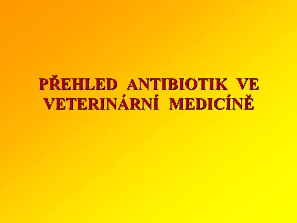 Zásady správného používání antibiotik 1.Podání antibiotik by se mělo uskutečnit jen na základě správně stanovené diagnózy bakteriálního onemocnění 2.Původce infekce musí být in vitro k použitému antibiotiku citlivý (test citlivosti) 3.V místě infekce musí být zajištěna dostatečná koncentrace antibiotika (alespoň MIC) 4.Doba podávání antibiotika má být taková, aby bylo infekční agens dokonale inhibováno nebo usmrceno 5.Podle možnosti dát přednost antibiotikům s užším spektrem a netoxickými účinky 6.Je třeba mít na zřeteli individuální kontraindikace