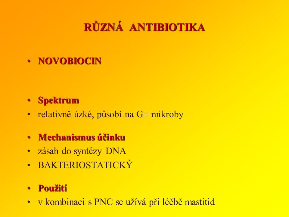 ToxicitaToxicita liší se mezi jednotlivými antikokcidiky i mezi druhy zvířat monensin, salinomycin - toxický pro equidy a přežvýkavce narasin - toxick