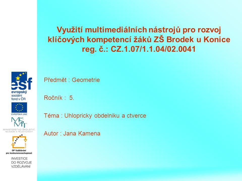 Narýsuj do sešitu: a) čtverec EFGH tak, aby EF = 3 cm b) obdélník KLMN tak, aby /KL/ = 5 cm a /LM/ = 3cm.