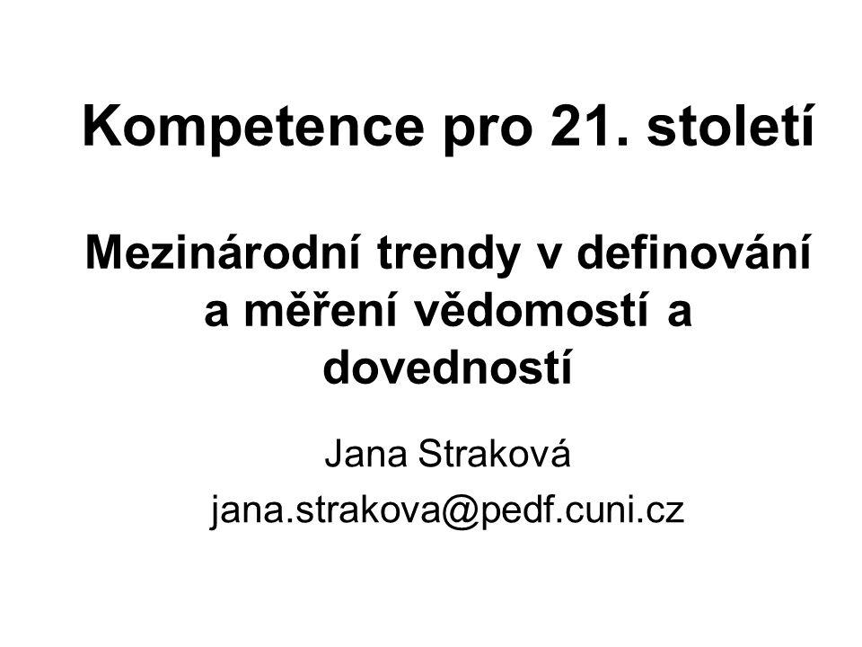 Kompetence pro 21.