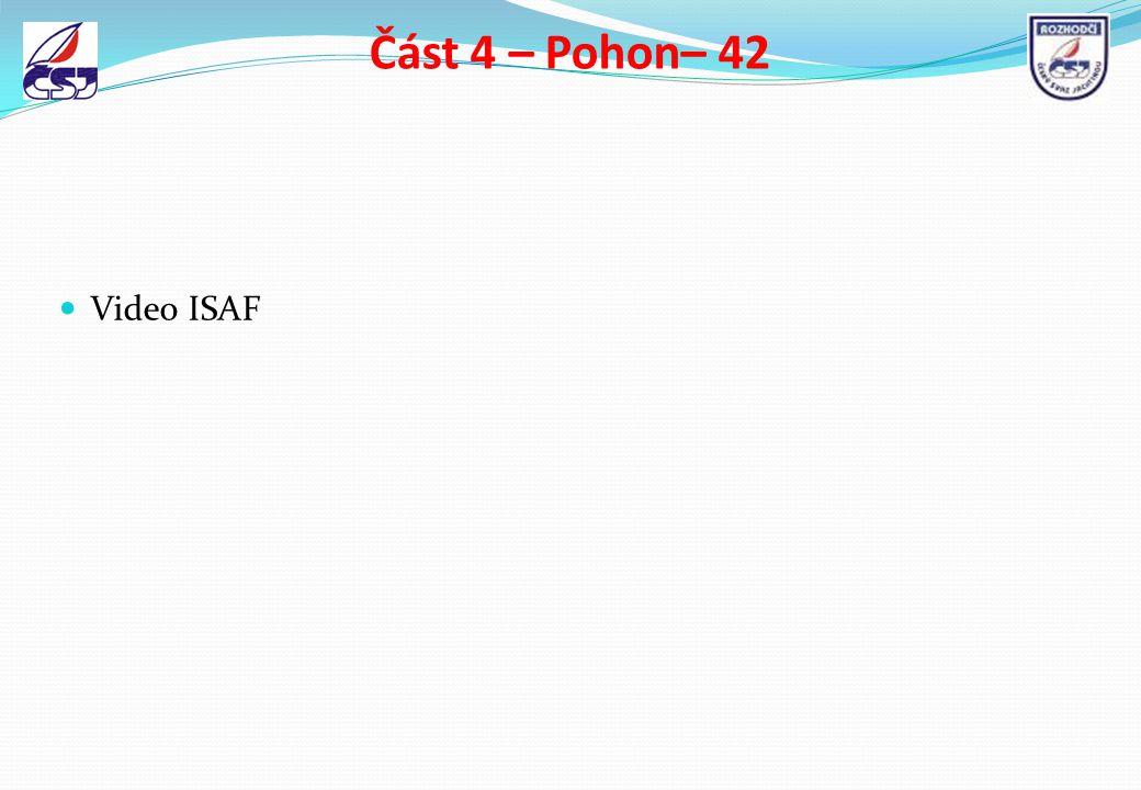 Část 4 – Pohon– 42 Video ISAF