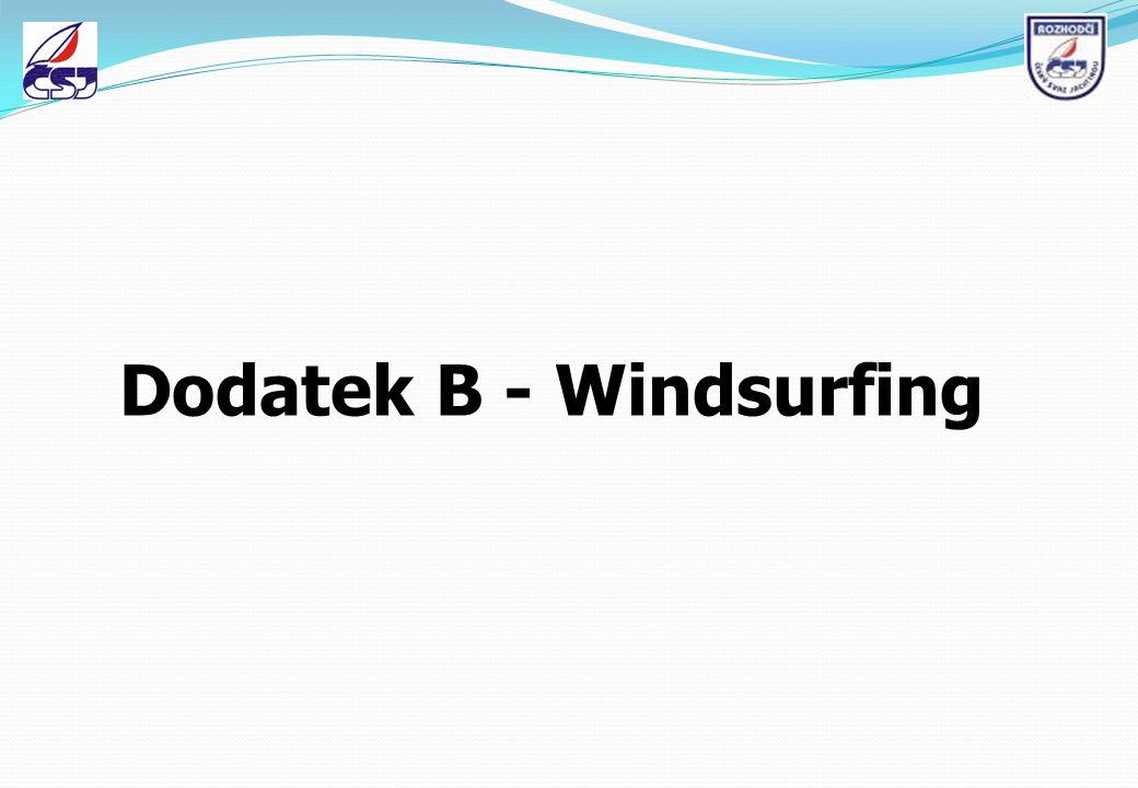 Dodatek B - Windsurfing