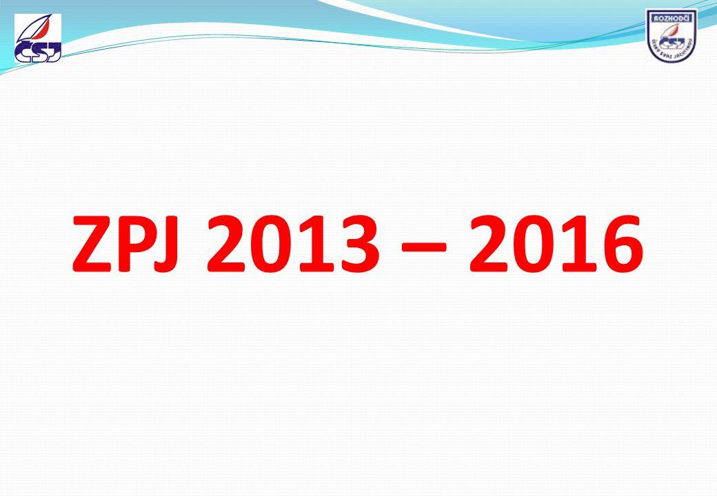 ZPJ 2013 – 2016