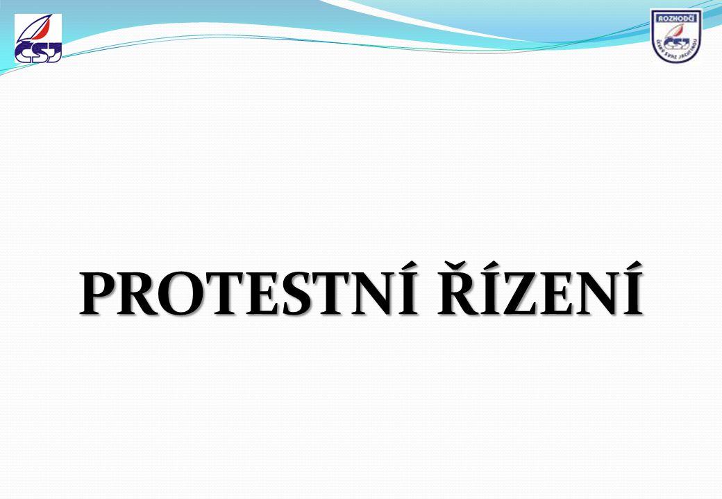 PROTESTNÍ ŘÍZENÍ