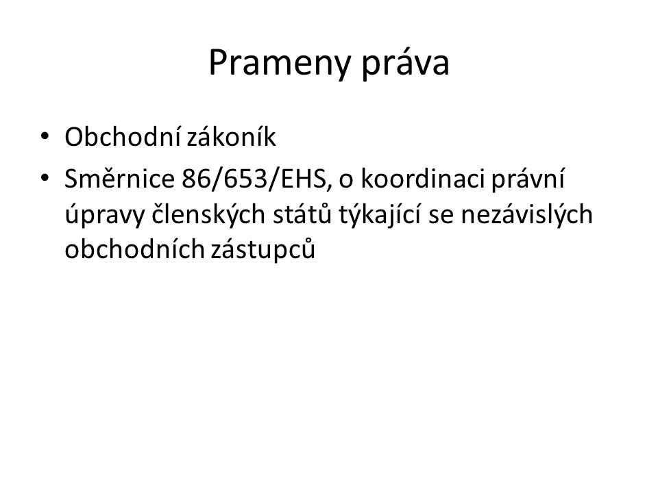 Smlouva mandátní - § 566 an.