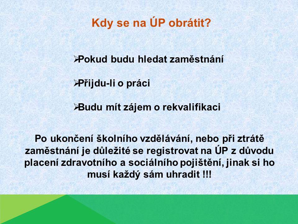 Navštivte porál Ministerstva práce a sociálních věcí na adrese http://portal.mpsv.cz/ Jak najít svůj Úřad práce odkaz ZDE